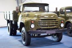 军用俄国卡车Zil-130 库存图片