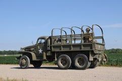 军用卡车 库存图片