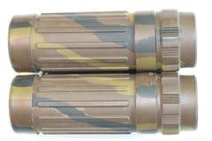 军用双筒望远镜 免版税库存照片