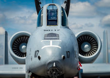 军用喷气机 免版税图库摄影