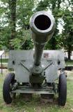 军用大炮 免版税库存照片