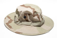 军用帽子 免版税库存照片