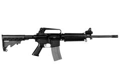 军用步枪 免版税图库摄影