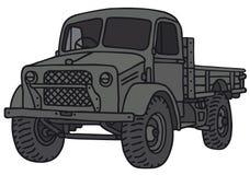 军用老卡车 免版税库存图片