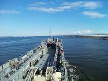 军用船 免版税库存图片