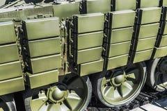 军用设备的活跃渐增保护 库存图片