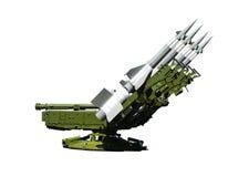 军用设备 军用空气导弹 免版税库存图片