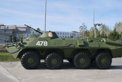 军用设备 免版税图库摄影