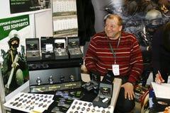 军用陈列室手表 免版税图库摄影
