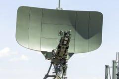军用雷达 库存照片