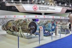 军用飞机涡轮喷气引擎  库存图片