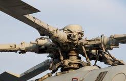 军用直升机电动子 库存图片
