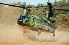 军用直升机 免版税图库摄影