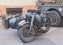 军用BMW R75 750 cc (1942) 库存照片