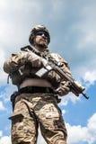 军队别动队员 图库摄影