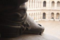 军队博物馆雕象,巴黎 免版税库存图片