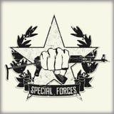 军队标志 库存照片