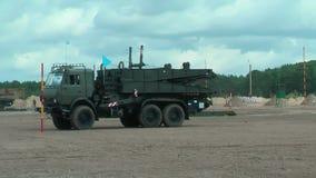军队比赛2017 安全路线比赛秋明州 俄国 股票录像