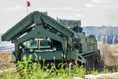 军队比赛2017 工程学惯例 秋明州 俄国 图库摄影