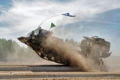 军队比赛2017 工程学惯例contestRussia 库存图片