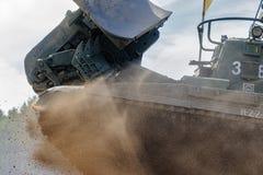 军队比赛2017 工程学惯例contestRussia 免版税库存图片