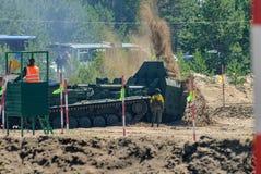 军队比赛2017 工程学惯例contestRussia 库存照片