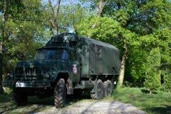 军队汽车 免版税库存图片