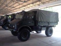 军队汽车 免版税图库摄影