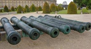 军队的博物馆 交易从m的汇集的大炮 免版税库存图片