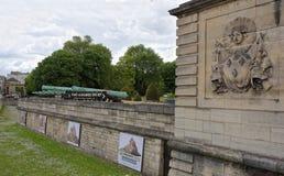 军队的博物馆 从汇集的交通大炮的 免版税图库摄影