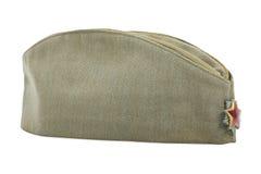军队盖帽 图库摄影