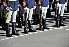 军队纪律 免版税库存照片