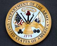 军队美国的部门 免版税库存照片