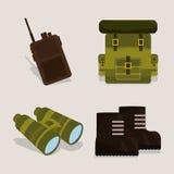 军队设计 免版税库存照片