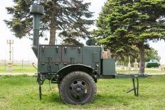 军队野外用的全套炊具KP-125 免版税库存图片