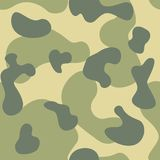 军队,军事伪装无缝的重复的传染媒介基于样式 免版税库存照片