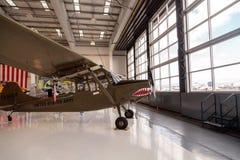 军队绿色赛斯纳O-1E飞机叫猎鸟犬 免版税图库摄影