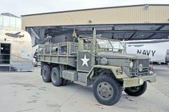 军队6X6卡车 免版税库存照片
