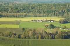 农业农场土地 免版税图库摄影
