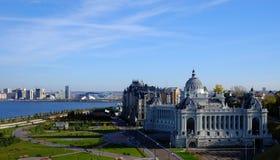农业宫殿,喀山克里姆林宫,喀山俄罗斯 库存照片