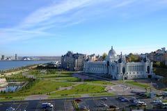 农业宫殿,喀山克里姆林宫,喀山俄罗斯 库存图片