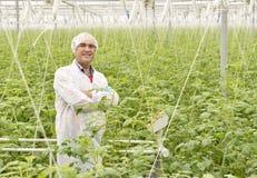 农业工程师 图库摄影