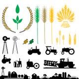 农业徽标 免版税图库摄影