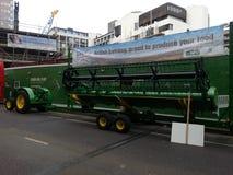 农业拖拉机 伦敦阁下市长游行 2014年 库存图片