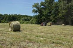 农业拖拉机 免版税库存图片