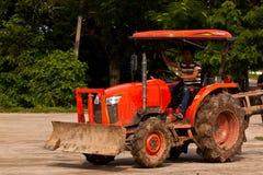农业拖拉机 库存图片