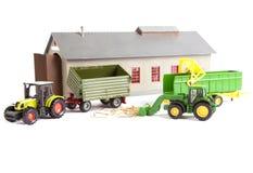 农业拖拉机 免版税图库摄影
