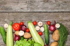 农业新鲜市场产品蔬菜 图库摄影