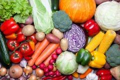 农业新鲜市场产品蔬菜 免版税图库摄影
