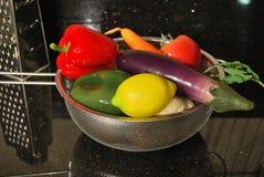 农业新鲜市场产品蔬菜 免版税库存照片